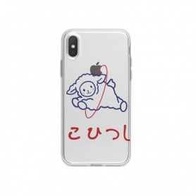 Transparent Soft Sheep Pattern Phonecase For iPhone/HUAWEI