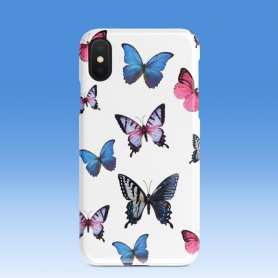 Vintage Colorful Butterfly Pattern Phonecase  For iPhone/HUAWEI