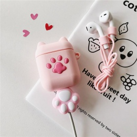 Cat Paw Airpods Protective Case