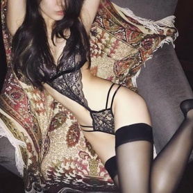 Gothic Temptress Lace and Strings Lingerie