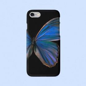 Gothic Half Butterfly Pattern Phonecase For iPhone/HUAWEI