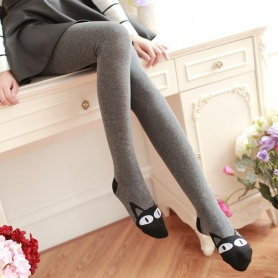 Kitty Cotton Thick Tights